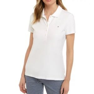 Tommy Hilfiger NWT white polo